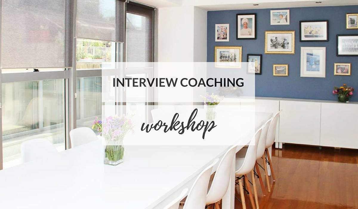 INTERVIEW COACHING WORKSHOP - ATHENS