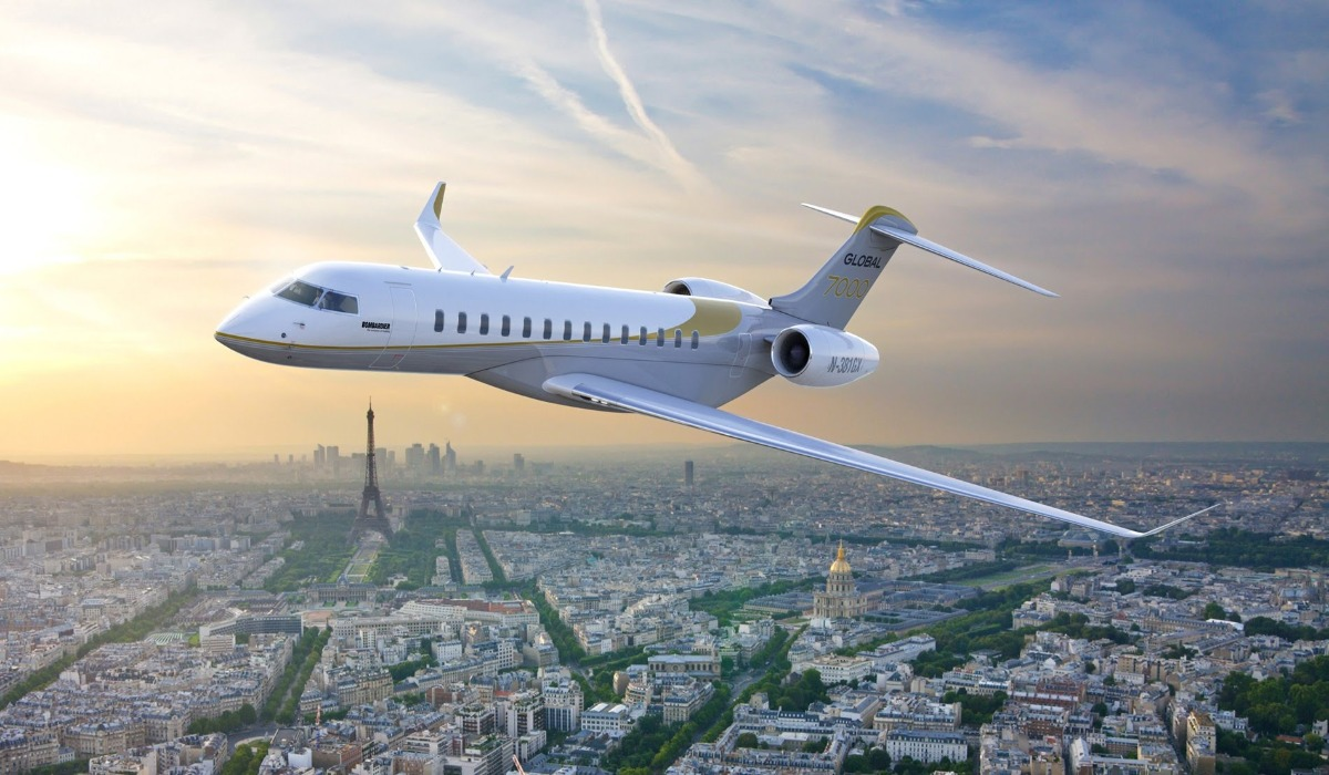 THE SUPER-LUXURIOUS BOMBARDIER GLOBAL 7000